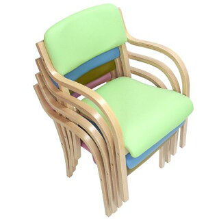 ダイニングチェア木製肘付き完成品送料無料椅子肘掛スタッキングチェアダイニングチェア病院待合室いす65%OFFLDCH-1-S
