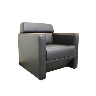 応接セット4点セット応接ソファーセット応接ソファ応接椅子2人掛けソファ1人掛けソファ高級おしゃれブラックレザー応接室モンターニュKPQ-TS-BK