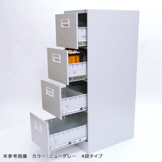 【法人送料無料】ファイリングキャビネット3段書類棚ホワイトA4ファイル書庫A4-3W引き出し書類収納白ファイルキャビネット書類ケースL-A4-3W
