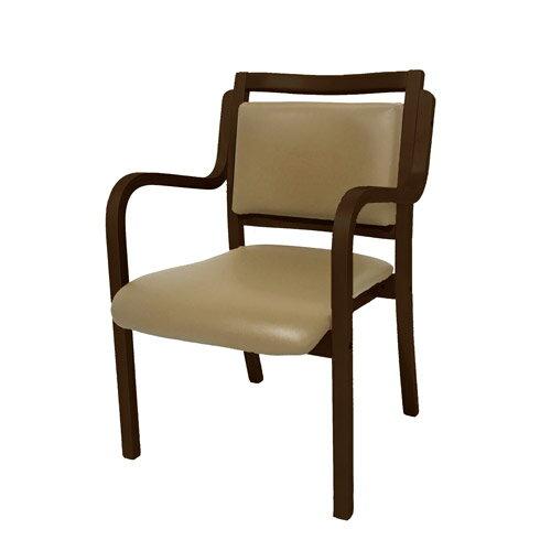 ダイニングチェア完成品介護椅子木製持ち手付きダイニングチェアー介護用イス全6色スタッキングチェア積み重ね収納軽量椅子待合室ロビー広間リビングダイニング介護サポートチェアお子様用にもオススメカワイイカラーのチェア肘付きANG-1H