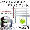 スタンディングデスク スイフト オカムラ W1600×D800mm 岡村製作所 オフィスデスク swift 電動昇降デスク オフィス家具 送料無料 3S20TB