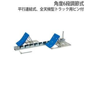 【法人限定】スターティングブロック 角度6段調節式 全天候型トラック用ピン付 平行連結式 陸上用品 陸上部 体育用品 スターティングブロックJ022 G1419
