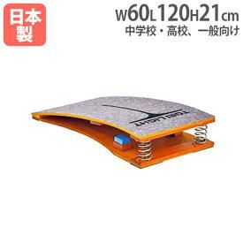 【法人限定】 ロイター板 スプリング式 中学校・高校・一般向け 踏切板 跳び箱用品 上面カーペット張 体操用品 体育用品 ロイター板スプリング式1 T2108
