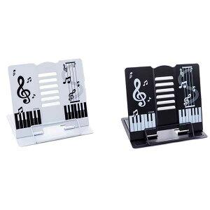 音符 ピアノ 楽譜 台 スタンド 角度調整 譜面台 読書 可愛い 書見台 送料無料
