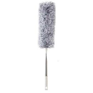 送料無料 ハンディモップ 280cm 伸びる モップ 伸縮 曲がる ロングモップ 天井 ほこり 掃除 高所 家庭 掃除ブラシ 掃除モップ 簡単
