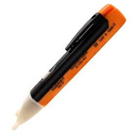 通電テスター 検電器 ペン型 非接触式 チェッカー LEDライト 配線確認 電気作業 送料無料