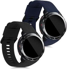 Honor Watch GS Pro 交換 アームバンド 2x シリコン フィットネストラッカ スポーツアームバンド 送料無料