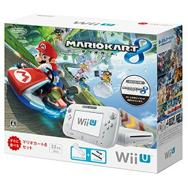 Wii U マリオカート8 セット シロ【メーカー生産終了】 [video game]