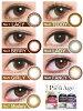 [日本 美瞳 / 彩片] Pienage 1day [更换周期:日抛] 2盒【1盒12片(6副)】 直径14.0/14.2mm 有度数 无度数 彩色隐形眼镜 1day Colored Contact