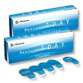 ◆【送料無料】メニコンワンデー【2箱】_【1日_ワンデー_1day】【使い捨て_コンタクトレンズ】【メニコン_menicon】【HL_NEW_18】
