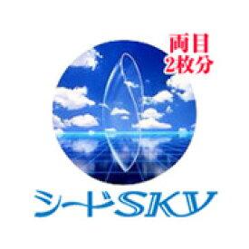◆シードスカイ【2箱】_【従来型_常用ソフト_コンタクトレンズ】【シード_seed】 【HL_NEW_18】