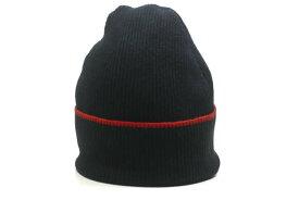 bali barret バリバレ コットンカシミヤニットキャップ 2 ブラック ビーニー ワッチ 帽子【中古】【bali barret】