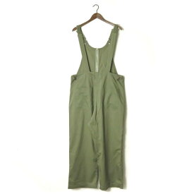 Name. ネーム 17AW 日本製 STRETCH TWILL OVERALL ストレッチツイルオーバーオール NMPT-17AW-011 2 カーキ オールインワン ジャンプスーツ つなぎ【中古】【Name.】