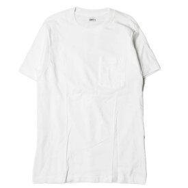 B.V.D. ビー・ブイ・ディ 80s ポケットTシャツ L(42-44) ホワイト 半袖 BVD ヴィンテージ 無地 トップス【中古】【B.V.D.】