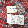 BEAMS BOY BEAMS Co., Ltd. boy 19SS Madras camisole 13-01-0364-195-free red cotton check tops