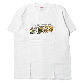 Supreme シュプリーム 17AW アメリカ製 Dog Shit Tee ドッグシットTシャツ M ホワイト 半袖 犬 銃 プリント トップス【新古品】【中古】【Supreme】