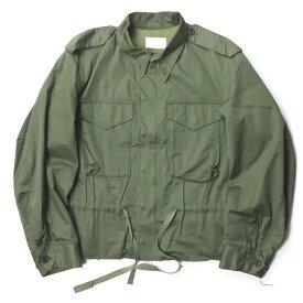 URU ウル 16SS 日本製 M-65 Military Jacket カットオフショートミリタリージャケット 16SUJ04 2 オリーブ アウター【中古】【URU】
