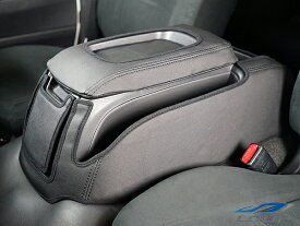 ハイエース 200系 パーツ 標準ボディ S-GL専用 センターコンソール レザーカバー ブラック H16〜
