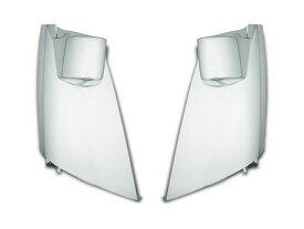 いすゞ トラックパーツ 超低PMエルフ 標準ボディ ワイドボディ用 メッキコーナーパネル 左右セット H16.6〜H19.4