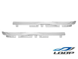 いすゞ トラックパーツ 2tエルフ NEWエルフ 標準ボディ ワイドボディ用 メッキヘッドライトリム 左右セット H5.7〜H16.5