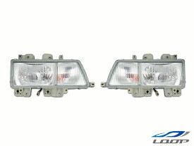 エルフ ヘッド いすゞ トラックパーツ 2tエルフ NEWエルフ 標準ボディ ワイドボディ用 純正タイプ ヘッドライト 左右セット H5.7〜H16.5