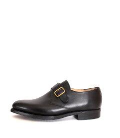 Lloyd Footwearロイドフットウェア 2822 シングルモンク モンクストラップ ブラック カーフレザー