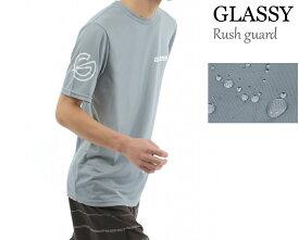 ラッシュガード ラッシュTシャツ サーフTシャツ メンズ 半袖 水陸両用 撥水加工 紫外線防止 日焼け対策 サーフィン マリンスポーツ GLASSY グラッシー