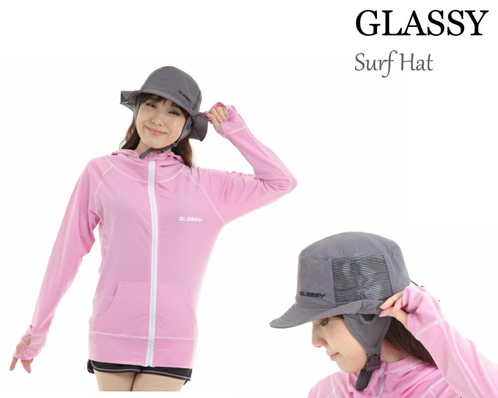 GLASSY(グラッシー) サーフハット サーフィンハット メンズ レディース ビーチハット SURF HAT 日焼け対策 紫外線対策 UVカット