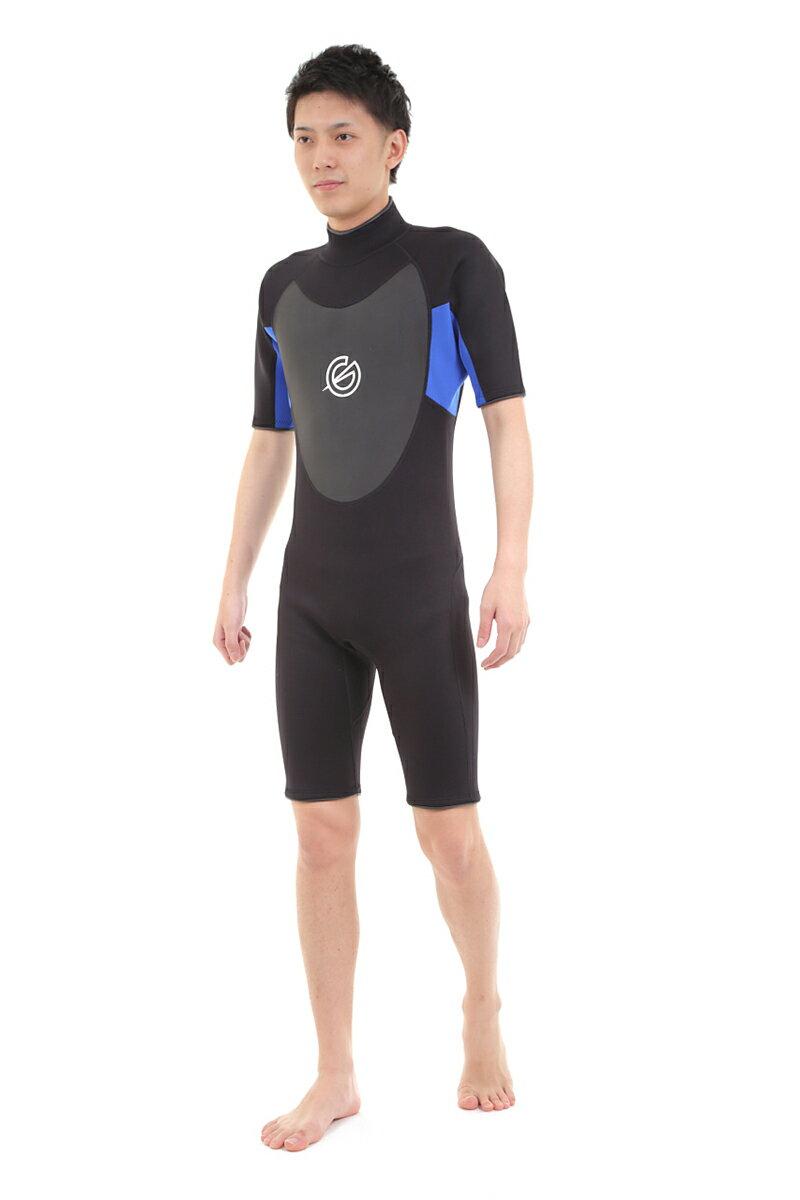 【即日発送】 GLASSY(グラッシー) ウェットスーツ ウエットスーツ WETSUITS スプリング メンズ 半袖 サーフィン マリンスポーツ 【あす楽対応】
