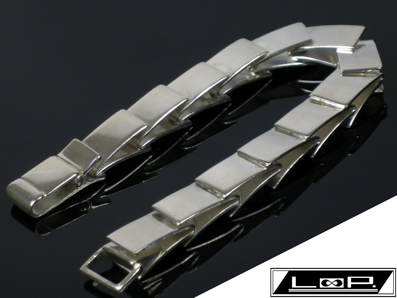 【SALE】【美品】 GUCCI グッチ ブレスレット プレート アクセサリー ビンテージ シルバー SV 925 【A16219】 【中古】