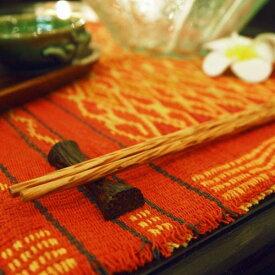 アジアン 箸置き 木製 ココナッツウッド メール便 ( 箸休め キッチン 雑貨 バリ リゾート インテリア おしゃれ かわいい モダン バリ雑貨 )