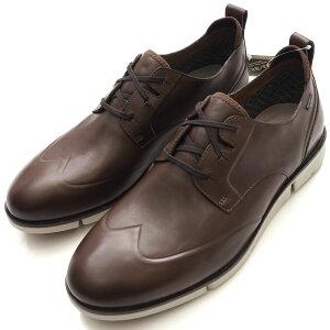新品 Clarks クラークス Trigenwing Gtx ゴアテックス レザーシューズ 革靴 UK7(25.5cm) ブラウン GORE-TEX防水透湿 メンズ 5G/D01185/AFEB18/【bzbnr】/YM/HM/SYM