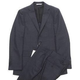 新品 D'URBAN ダーバン 日本製 スーツ Y6 グレー×ネイビー メンズ 2WHF/J0152S/AOCT14/HM
