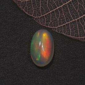 エチオピアオパール1.30ct Bu-1129R 蛋白石 シリカ 非晶質 光彩効果 レアストーン 稀少石 ルース 天然石 遊色