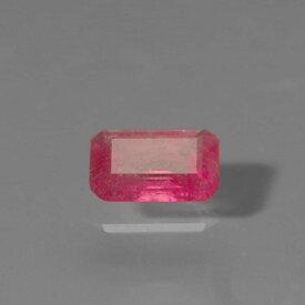 レッドベリル0.12ct bmi-1904【超レア】ベリルは色によって液体が抜けた跡や結晶など、イ ンクリュージョンの入り方が大きく変わり、特に赤 色は割れが多く原石が小さいこともあって、とても 稀少です。レアストーン専門店大阪ウエルダー