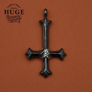 HUGE METEORITE MFG.CO 逆さ十字架 リバース クロス 大型シルバーネックレス/シルバーアクセサリーブランド ペンダント