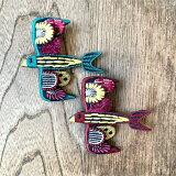 KAPITA3D刺繍ピン(ツバメ)
