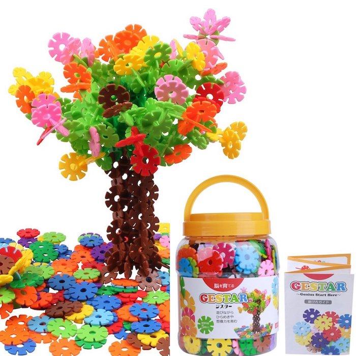 GESTAR (ジスター) 天才のはじまり 知育玩具 ブロック おもちゃ 2歳 ~ 7歳 動画説明書付属 積み木 知育 立体 パズル はめ込み 男の子 女の子 3歳 4歳 5歳 6歳