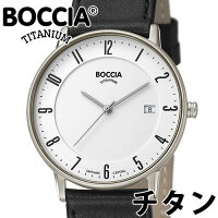 ac4f46eab8 PR BOCCIA TITANIUM ボッチア チタニュウム 腕時計 メンズ オー.