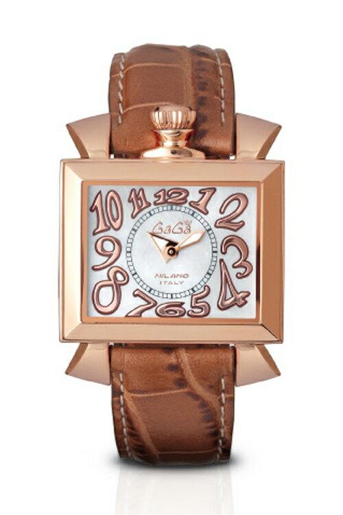 【国内正規品 2年保証】 GAGA MILANO ガガミラノ 腕時計 NAPOLEONE 40MM(ナポレオーネ 40mm) レディース 【6031.2】【代引手数料 送料無料】