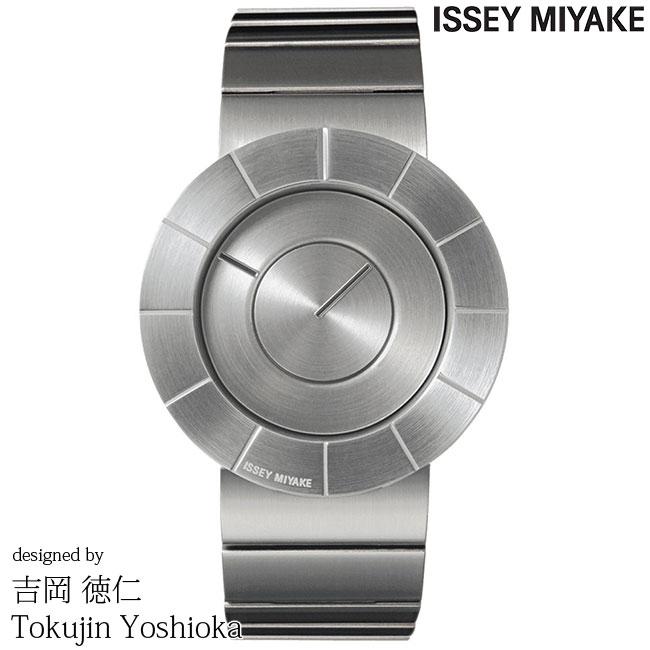 ISSEY MIYAKE イッセイミヤケ 腕時計 YOSHIOKA TOKUJINN 吉岡徳仁 TO ティーオー シルバーサテン SILAN001 安心の正規品 代引手数料無料 送料無料 あす楽 即納可能