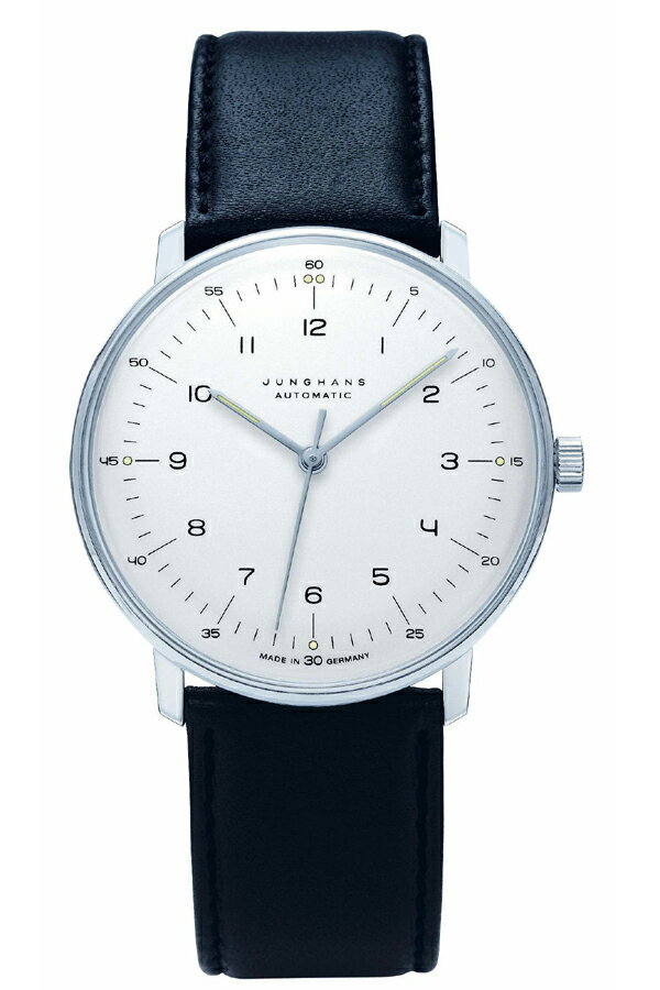ユンハンス マックスビル Max Bill by Junghans Automatic オートマチック メンズ腕時計 機械式 027 3500 00 安心の国内正規品 代引手数料無料 送料無料
