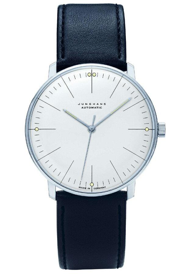 ユンハンス マックスビル Max Bill by Junghans Automatic オートマチック メンズ腕時計 機械式 027 3501 00 安心の国内正規品 代引手数料無料 送料無料