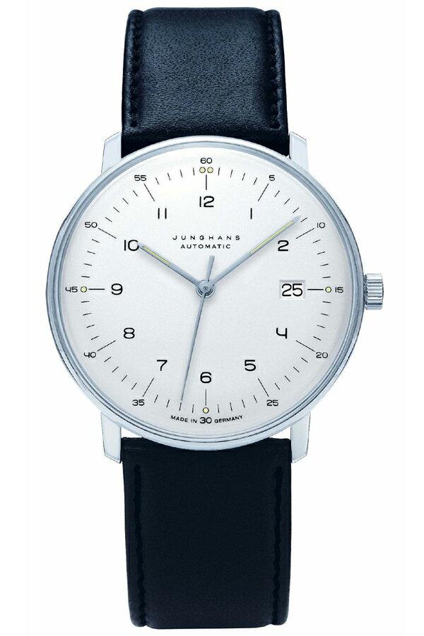 ユンハンス マックスビル Max Bill by Junghans Automatic オートマチック 腕時計 機械式 027 4700 00 安心の国内正規品 代引手数料無料 送料無料