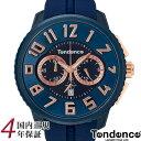 テンデンス 腕時計 アルテックガリバー 50mm クロノ メンズ レディース ブルー/ローズゴールド ガリバーラウンド Tend…