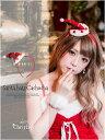 サンタ コスプレ サンタ 衣装 CUTEなサンタ帽子付カチューシャ単品[dazzyサンタ2016] サンタ衣装 サンタコス サンタク…
