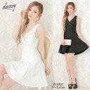 キャバ ドレス 襟付き ボーダー Aライン ミニ ドレス | ドレス キャバ キャバドレス 大きいサイズ ドレス ワンピース …