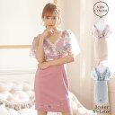 キャバ ドレス ワンショルダー 花柄 レース タイト ミニ ドレス| ドレス キャバ キャバドレス 大きいサイズ ドレス ワ…