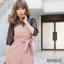 【送料無料】 ドレス 結婚式 平子理沙プロデュース コルセット風 デザイン パンツ ドレス [darial] [RIRIBAE/リリベ] …