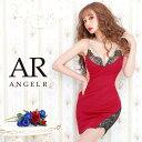【送料無料】 キャバ ドレス バスト レース デザイン ライン ビジュー タイト ミニ ドレス [AngelR] | ドレス キャバ …